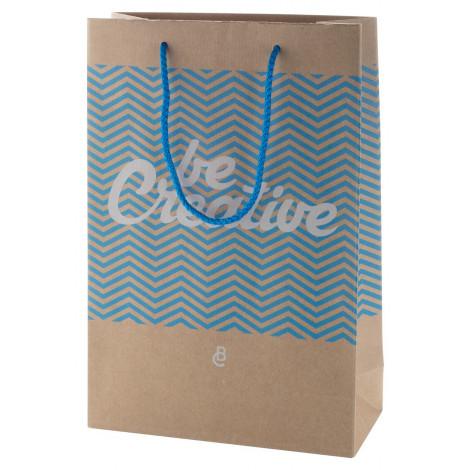 střední papírová nákupní taška na zakázku