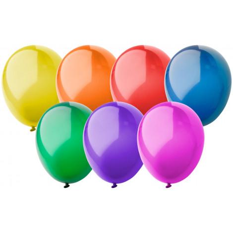 balonky v lesklých barvách