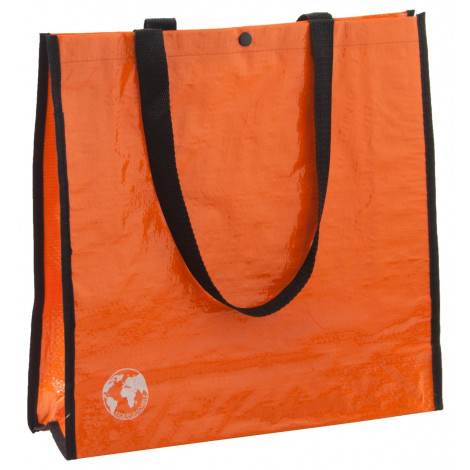 nákupní taška z recyklovaného materiálu