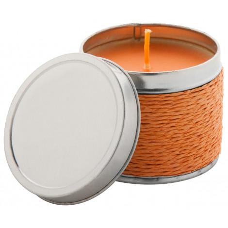 vonná svíčka, pomeranč