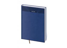 Diář denní A4 Print - modrá