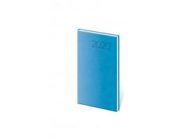 Diář týdenní kapesní Print - světle modrá