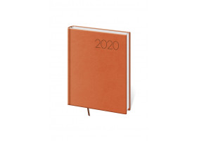 Diář denní B6 Print - oranžová