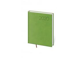 Diář denní B6 Print - světle zelená