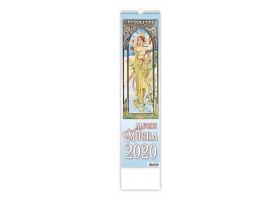 Nástěnný kalendář Alfons Mucha 2020