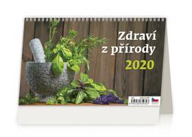 Stolní kalendář Zdraví z přírody 2020
