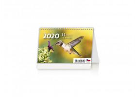 Stolní kalendář MINI 14denní kalendář 2020