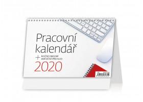 Stolní kalendář Pracovní kalendář 2020