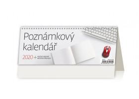 Stolní kalendář Poznámkový kalendář 2020