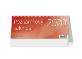 Stolní kalendář Poznámkový kalendář OFFICE 2020