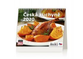 Stolní kalendář MiniMax Česká kuchyně 2020