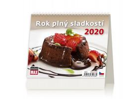 Stolní kalendář MiniMax Rok plný sladkostí 2020