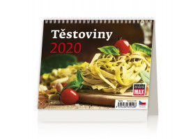 Stolní kalendář MiniMax Těstoviny 2020