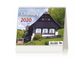 Stolní kalendář Minimax Chalupy 2020