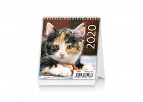 Stolní kalendář Mini Kittens 2020