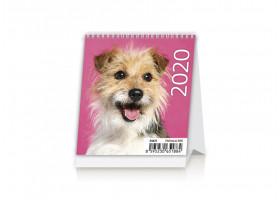 Stolní kalendář Mini Puppies 2020