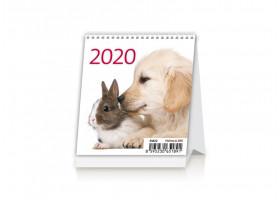 Stolní kalendář Mini Pets 2020