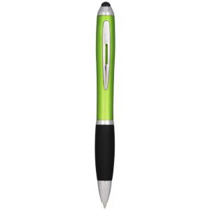 Kuličkové pero a stylus Nash s černým úchopem