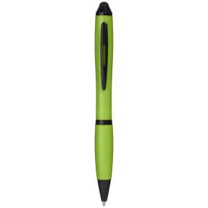Kuličkové pero a stylus Nash s farebným gripem