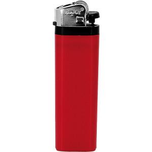 Jednorázový kamínkový zapalovač, červená
