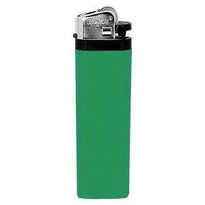 Jednorázový kamínkový zapalovač, zelená