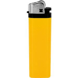 Jednorázový kamínkový zapalovač, žlutá