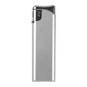 Piezoelektrický zapalovač, stříbrný