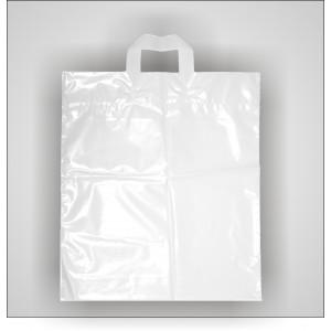 PE taška 40x46 cm, bílá