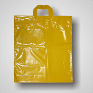 PE taška 40x46 cm, žlutá
