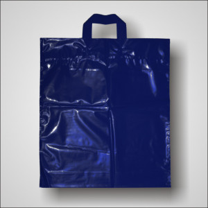 PE taška 40x46 cm, modrá