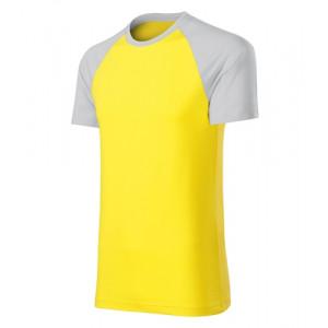 Duo tričko unisex žlutá 2XL