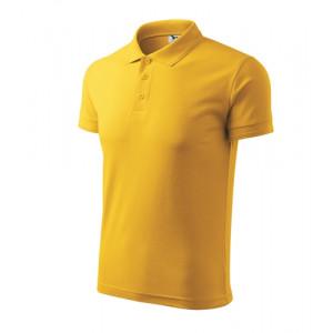 Pique Polo polokošile pánská žlutá S