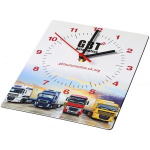 Obdélníkové nástěnné hodiny Brite-Clock®