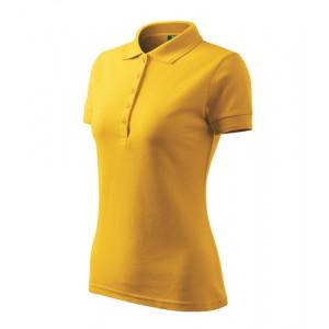Pique Polo polokošile dámská žlutá 2XL
