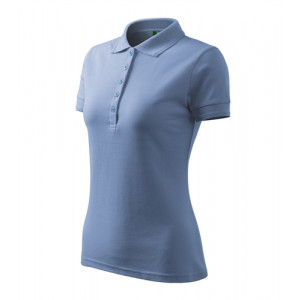 Pique Polo polokošile dámská nebesky modrá L