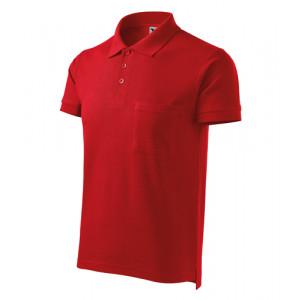 Cotton polokošile pánská červená S