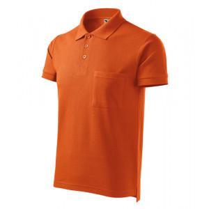 Cotton polokošile pánská oranžová S