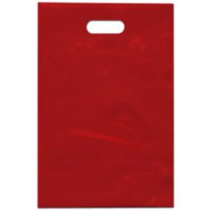 PE taška 20x30 cm, červená