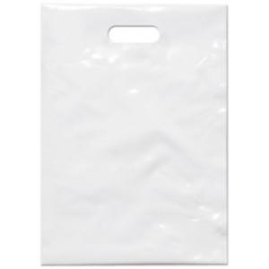 PE taška 25x35 cm, bílá