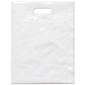 PE taška 27,5x36 cm, bílá