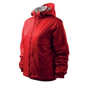 Jacket Active Plus bunda dámská červená 2XL