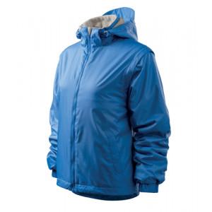 Jacket Active Plus bunda dámská azurově modrá 2XL