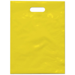 PE taška 30x40 cm, žlutá