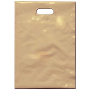 PE taška 35x50 cm, béžová