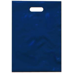 PE taška 35x50 cm, modrá