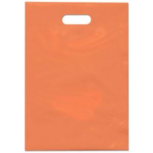 PE taška 35x50 cm, oranžová