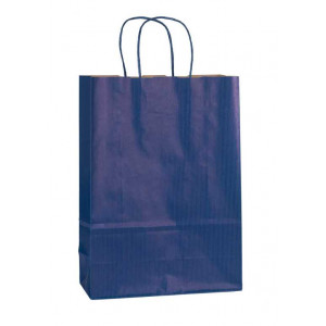 Papírová taška ECO Blu 18x8x25 cm