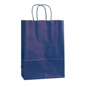 Papírová taška ECO Blu 23x10x32 cm