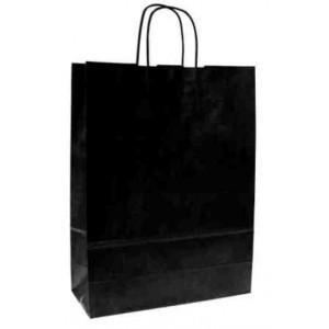 Papírová taška ECO Nero 18x8x25 cm