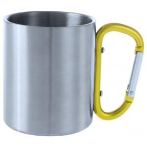 kovový hrnek